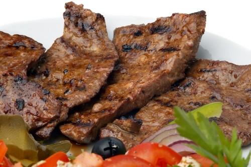 Рецепт приготовления свиной печени с луком
